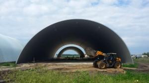 Строительство овощехранилища